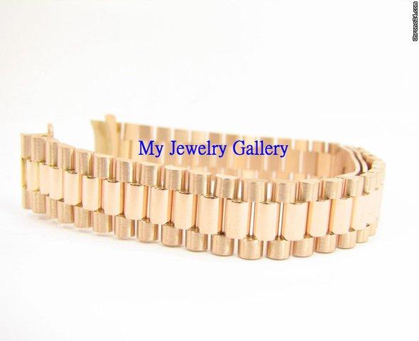rolex aftermarket 18k gold bracelet band for ladie