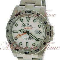 Rolex Explorer II 42mm, White Dial - Stainless Steel on Bracelet