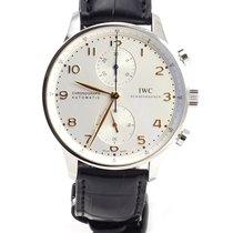 IWC Portugueser chronograph automatic 371445 NEW