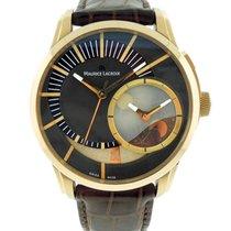 Maurice Lacroix Pontos Decentrique GMT18K Solid Rose Gold