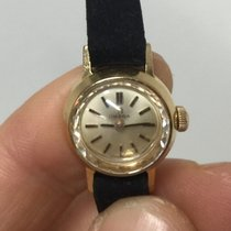 Omega Solo Tempo Manual Manuale gold oro 24 mm lady
