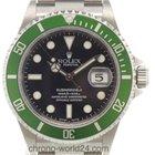 Rolex Submariner Date Ref. 16610 LV Fat Four ungetragen/Full...