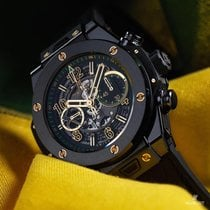Hublot [NEW+LTD] BIG BANG SINGLE CERAMIC USAIN BOLT CHRONOGRAP...