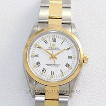 Rolex Oyster Perpetual Ref 14203 18K Stainless Steel