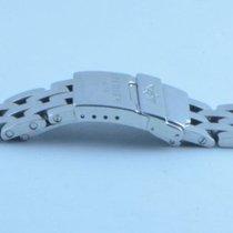 Breitling Pilot Stahl Armband Bracelet 18mm Stahl/stahl Für...