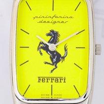 Orfina Ferrari Yellow Dial Steel Klassiker gelb Sammler selten...
