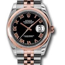Rolex Watches: 116201 bkrj Datejust 36mm - Steel and Gold Pi