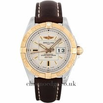Breitling Galactic 41 Steel & 18ct Rose Gold Automatic...