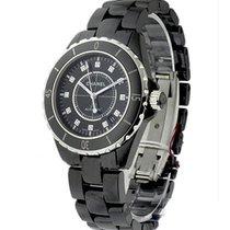 Chanel Black J12 Large Size H1626