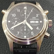 IWC Doppelchronograph in stainless steel ref.3713
