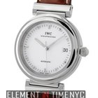 IWC Da Vinci Collection Stainless Steel Date White Dial 37mm...