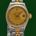 Rolex DateJust Lady 18k Gold Steel 10 Diamonds