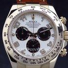 Rolex Daytona Cosmograph panda dial YG/Aligator full set LNIB