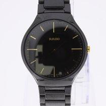Rado True Thinline High-Tech Ceramic Men's Watch