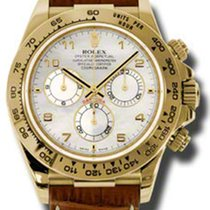 Rolex Daytona Yellow Gold - Leather Strap 116518 mabr