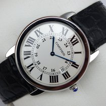 Cartier Ronde Solo Quarz - 36 mm - Box & Papiere - aus 2008