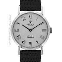 Rolex 18k white gold lady Cellini