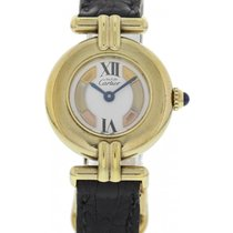 Cartier Ladies Must De Cartier Vermeil Argent 144392