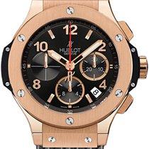 Hublot Big Bang 44 Chronograph Rose Gold Rubber Men's Watch