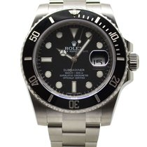 Rolex Submariner Date Stainless Steel 40mm Black Dial 116610LN