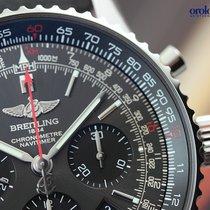 Breitling Men's Navitimer 01 Stratos Grey Limited Steel on...