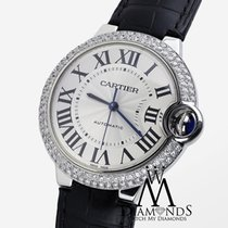 Cartier Diamond Cartier Ballon Bleu 42mm W69012z4 Automatic...
