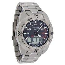 Tissot T-Touch Expert Mens Titanium Carbon Dial Swiss Watch...