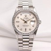 Rolex Day-Date 18346 Diamond Platinum