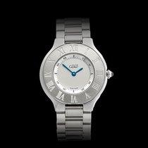 Cartier Must de 21 Stainless Steel Ladies 1330