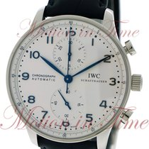 IWC Portuguese Automatic Chronograph, Silver Dial - Stainless...