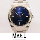 """Rolex Air King Oyster Perpetual """"Blu"""" NEW Ref.114300"""