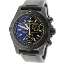 Breitling Avenger Seawolf Black Yellow Blacksteel