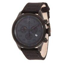 Swiss Military Watch Hawk Nero Rawhide Chronograph 27311