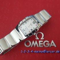 Omega Constellation Quadrella Mini  Stahl/Perlmutt & 8...