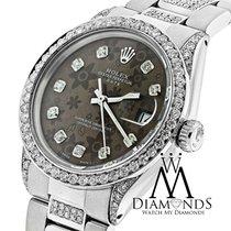 ロレックス (Rolex) Diamond Rolex 15200 34 Mm Stainless Steel Watch...