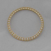 Rolex 18k Yellow Gold 1.00ct Round Diamond Factory Original...