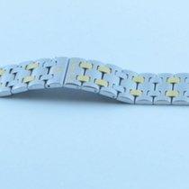 Eterna Damen Quartz Stahl/gold Armband Kontiki 17mm 13cm