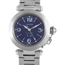 Cartier Pasha Unisex Automatic Stainless Steel Watch W31047M7