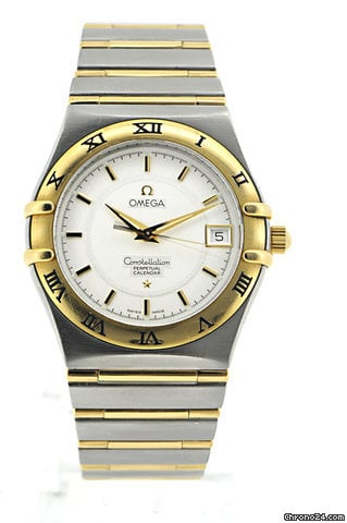 Omega Constellation 18K. Gold/Edelstahl