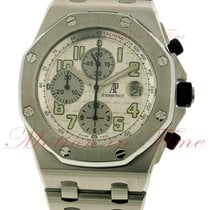 Audemars Piguet Royal Oak Offshore Chronograph, Silver Dial -...