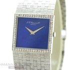 Chopard , Vintage Gentleman`s Watch, 18k White Gold, Di...