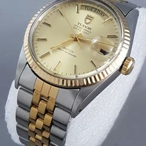 Tudor Oyster Prince Date Day Bic Champagne dial
