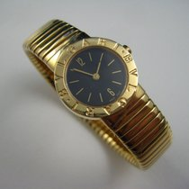 Bulgari 18K YELLOW GOLD TUBOGAS SNAKE WATCH BB232T