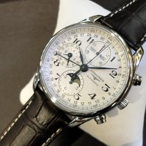 Longines Ungetragene Master Collection Chrono Mondphase 40mm
