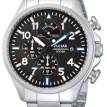 Pulsar PS6049X1 Chronograph 44mm silber 10ATM