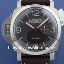 Panerai Luminor 1950 Left-Handed 8 Days Titanio PAM 00368