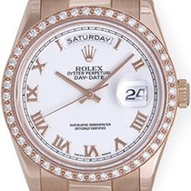 Rolex President Day-Date 18k Rose Gold Men's Watch 118235