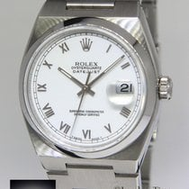 Rolex Datejust OysterQuartz Stainless Steel White Roman Dial...