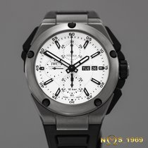 IWC Ingenieur Double Chronograph Titanium 45 mm BOX & PAPERS