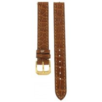 Longines Kaufmann Hand Made Crocodile Brown Leather Strap 12mm